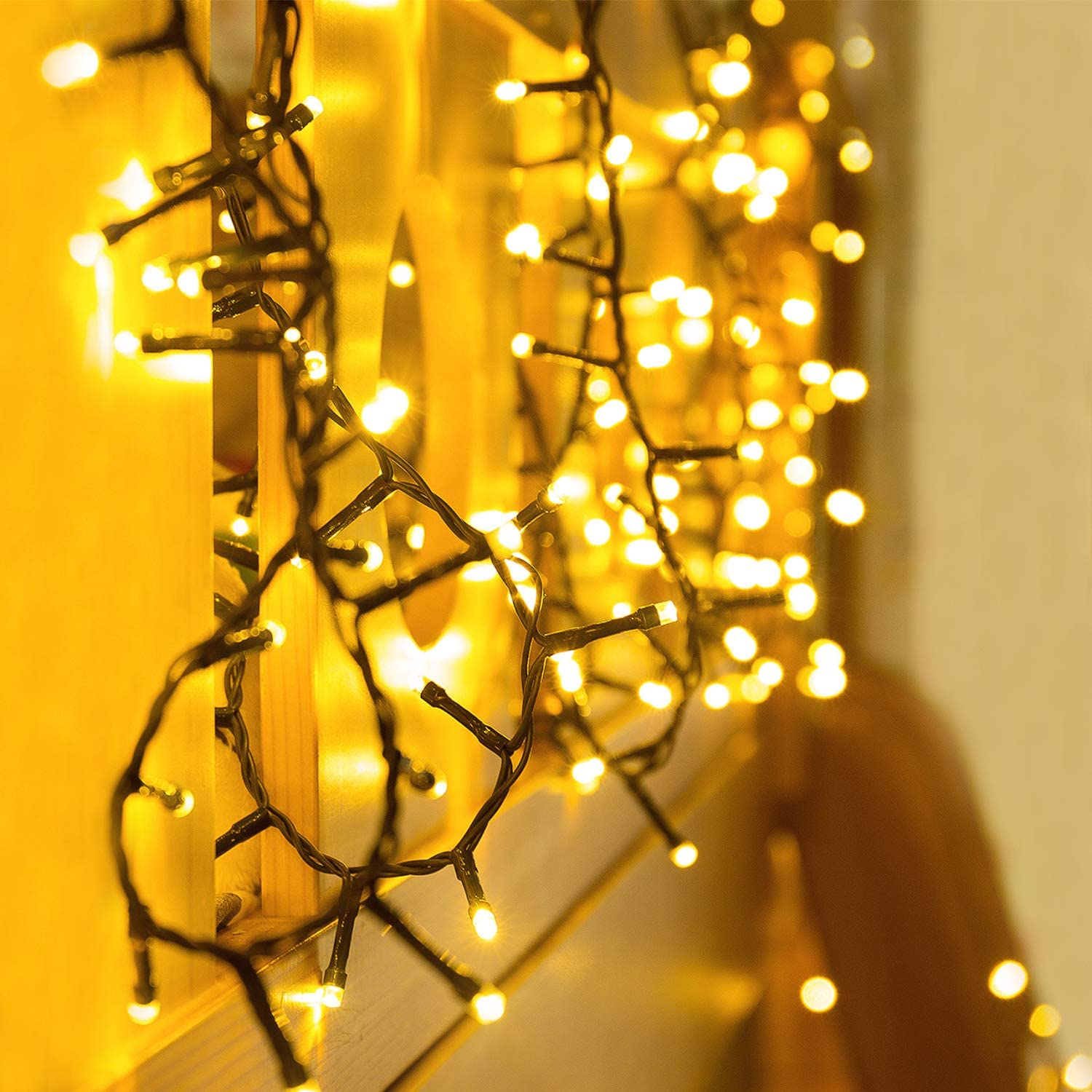 Solar Bulb String Lights Super special price LED Warm + Phoenix Mall White