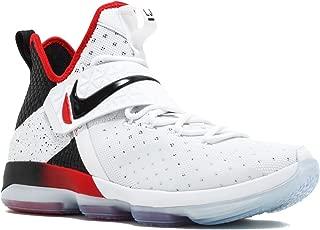 NIKE Men's Lebron XIV White/Black/Red 852405-103
