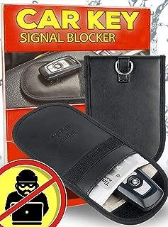 Anti Theft Car Key Fob Protector - Pocket Friendly RFID Signal Blocking Faraday Bag