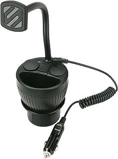 SCOSCHE MAGPCUP MagicMount PowerHub磁気カップホルダーマウント 車両用 ブラック