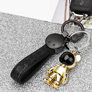 QYLOZ Loop Key Chain Ring Keychain Keyring Waistband Accessories for Women and Men-Multi-Color Optional (Color : Gold, Size : C)