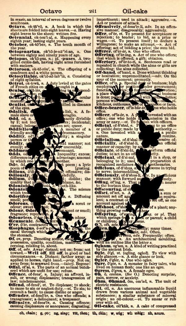 Letter U Art Special price Print - Max 78% OFF Typography Monogram