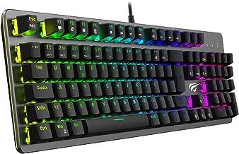 Teclado Mecânico Gamer Havit HV-KB493L RGB ABNT2 Switch Outemu Brown