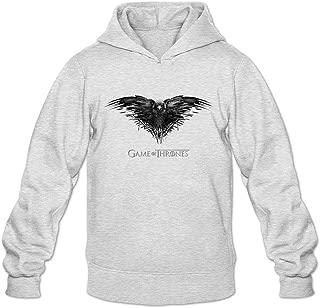 Game Of Thrones Logo Long Sleeve Sweatshirts Hoodie Men's Tommery XXL