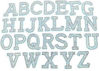 Violet Glitter de Fer sur T-Shirt Transfert vêtements Sparkle Vinyle Lettres Nom Texte