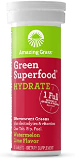 Amazing Grass, Green Hydration Watermelon Lime Single, 10 Count