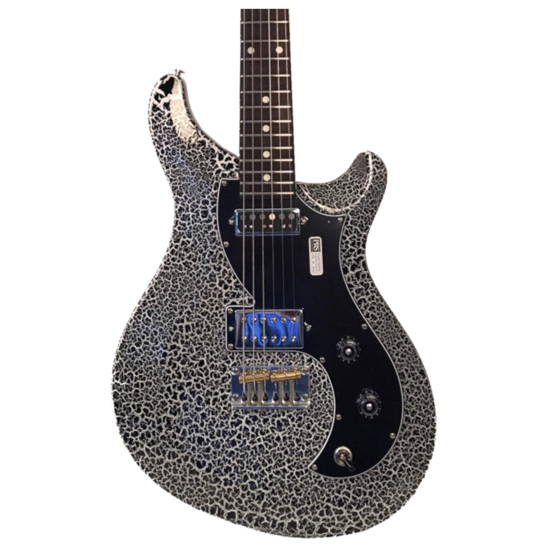 Cheap PRS V2H2-HSIDP Vela Black/White/Black Crackle Finish Electric Guitar Black Friday & Cyber Monday 2019