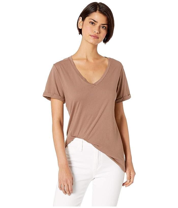LAmade Staple V S/S Tee (Deep Taupe) Women's T Shirt