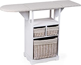 MONTEMAGGI-Mueble de planchado con tabla y 3&
