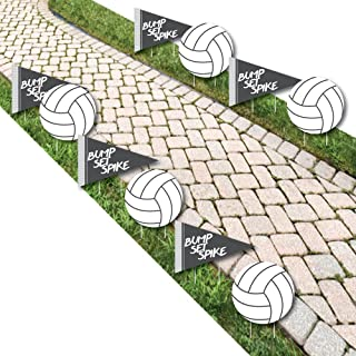 volleyball yard signs