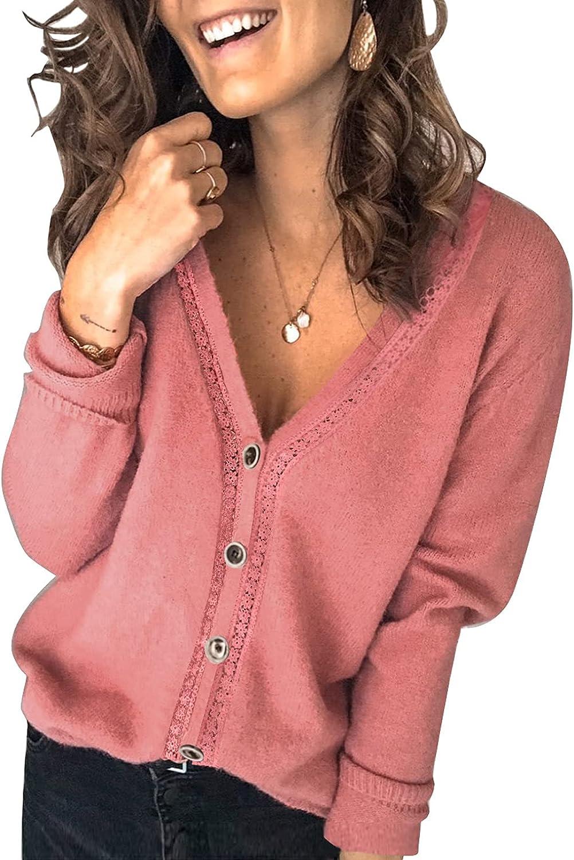 Asvivid Long Sleeve Open Front Lightweight Cardigans Women C Max 74% OFF for Minneapolis Mall