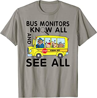 bus monitor shirts