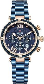 REWARD Chronograph Sports Women Quartz Wrist Watch with Calendar,Waterproof,Stainless,Fashion Design for Female