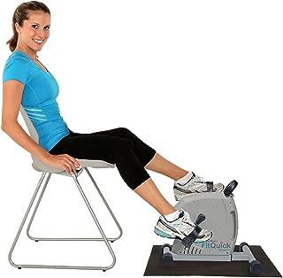 NUEVO - FitQuick - Calidad premium, Mini bici de ejercicios Resistencia magnética silenciosa y de bajo impacto, Rehabilitación para piernas y brazos - desde una silla o sofá. Muscula brazos y piernas, refuerza articulaciones y promueve la circulación