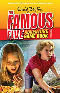 Famous Five: Adventure Game Books: Search For Treasure: Book 1