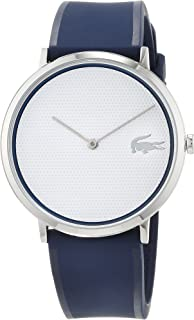 Lacoste Women's White Dial Silicone Band Watch - 2010951