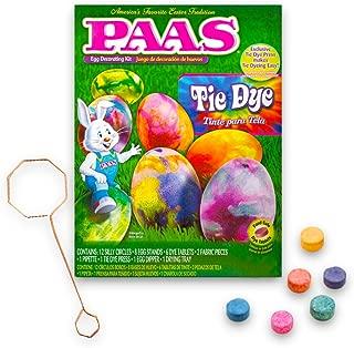 PAAS 39418 Tie Dye Egg Decorating Kit