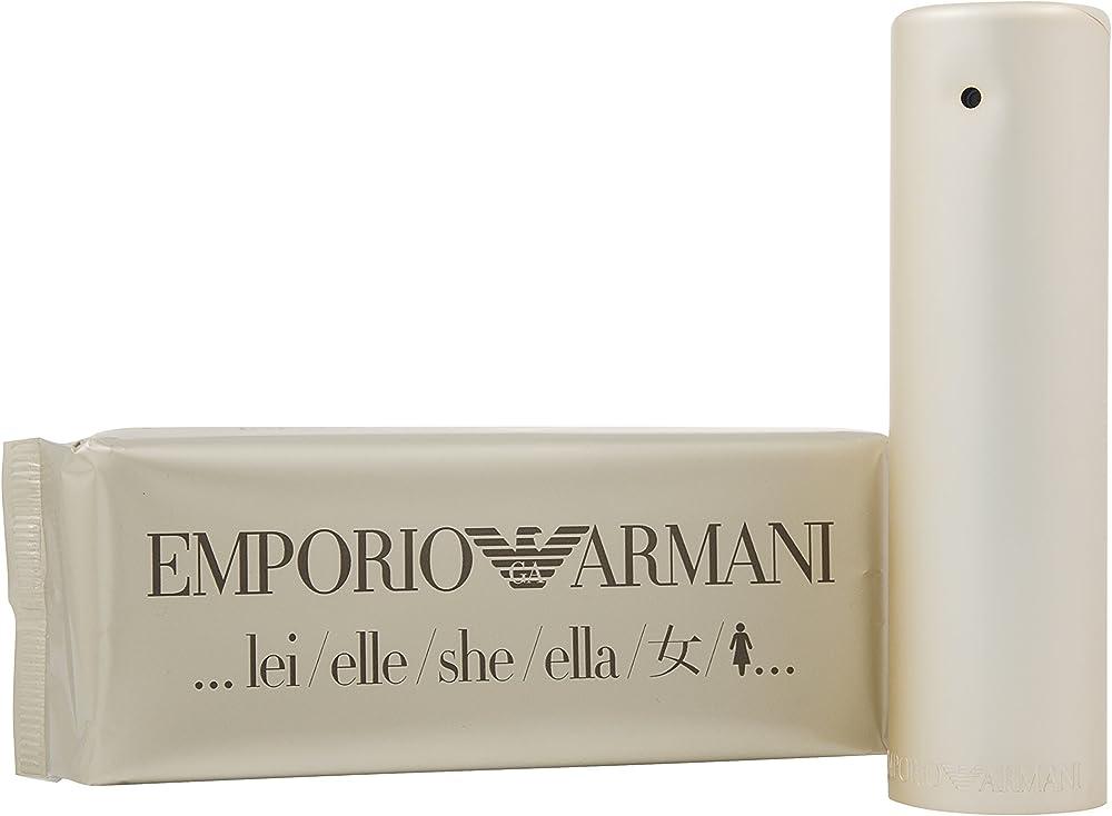 Emporio armani lei eau de parfum per donna   spray 100 ml - 100 ml 116747