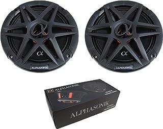 "$79 » Alphasonik ABM80 Dynamis Series 8"" Mid-Range 800 Watts MAX Car Audio Loud Speakers 4 OHM 1.5 inch Copper-Clad Aluminum 2-l..."