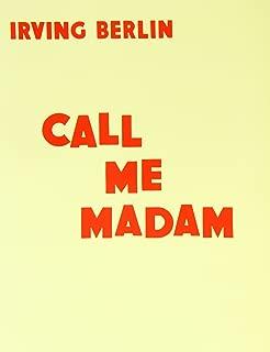 Call Me Madam Vocal Score