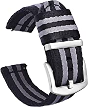 Pbcode NATO Watch Strap 20mm 22mm Seat Belt Nylon Quick Release Watch Bands for Men