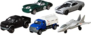 Matchbox Top Gun: Maverick 5-Pack of Vehicles & Planes for Kids 3 Years Old & Up, Authentic Design for Collectors