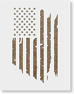 Best distressed flag stencil Reviews