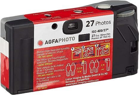 Agfaphoto Einwegkamera Lebox 400 27 Outdoor Kamera