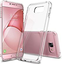 Ringke Fusion Compatible with Galaxy A8 2016 Case Tough PC Back TPU Bumper Drop Protection, Shock Absorption Technology Raised Bezels Protective Cover for Galaxy A8 2016 - Clear