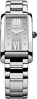 Maurice Lacroix - fiaba Reloj para Mujer Analógico de Cuarzo con Brazalete de Acero Inoxidable FA2164-SS002-150-1