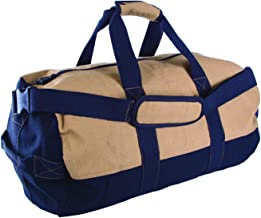 Stansport Two-Tone Canvas Duffle Bag with Zipper