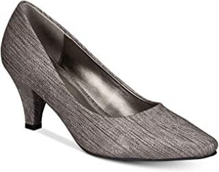 Karen Scott Womens Meaggann Suede Pointed Toe Classic Pumps Taupe