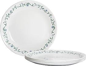 Corelle Livingware Country Cottage Dinner Plate Set, 26cm, Set of 6
