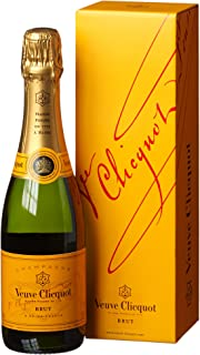 Veuve Clicquot Champagner Brut mit Geschenkverpackung 1 x 0.375 l