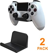 sciuU Soporte de pared para Auriculares / Mando, [Conjunto de 2] Gancho Adhesivo 3M, Colgar los Auriculares, Accesorios para Controller Controlador Gamepad de Xbox / PS4, Sin Tornillos - Negro