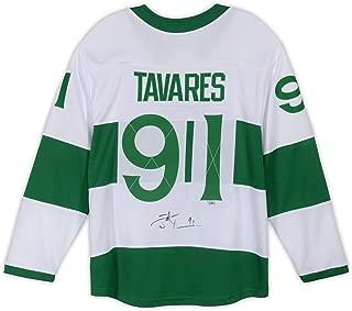 John Tavares Toronto Maple Leafs Autographed Toronto St. Pats Fanatics Breakaway Jersey - Fanatics Authentic Certified