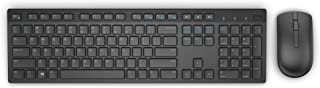 Teclado e Mouse Wireless Dell, KM636, Preto