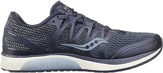 Saucony Men's Liberty ISO Shoes, Grey/Fog, 8