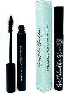 Natural Mascara (Black) | NEW VOLUMIZING FORMULA | Essential Organic Makeup | Cruelty Free | Long-lasting a...