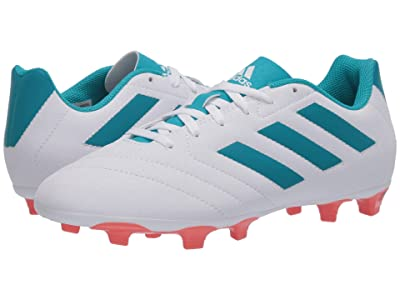 adidas Goletto VII FG W (Footwear White/Energy Blue/Easy Coral) Women