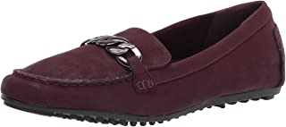 Easy Street womens Flat Sneaker, Burgundy Matte, 10 X-Wide US