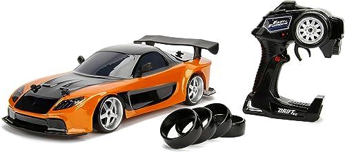 promociones emocionantes Jada Fast & Furious RC Car 1 10 10 10 Mazda RX-7 Drift Toys  ahorra hasta un 80%
