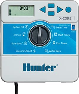 Hunter Sprinkler Irrigation XC600i X-Core 6-Station Indoor Controller, Small, Gray