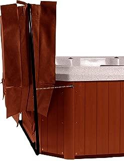 Cover Butler Bottom Mount Spa/Hot Tub Cover Lifter - Black