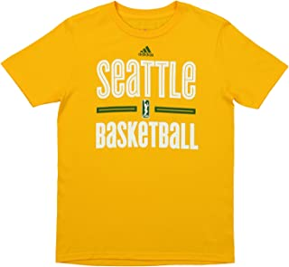adidas WNBA Youth's Seattle Storm Short Sleeve Graphic Tee
