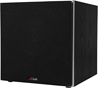 "Polk Audio PSW10 10"" Powered Subwoofer - Power Port Technology, Up to 100 Watts, Big Bass in Compact Design, Easy Setup wi..."