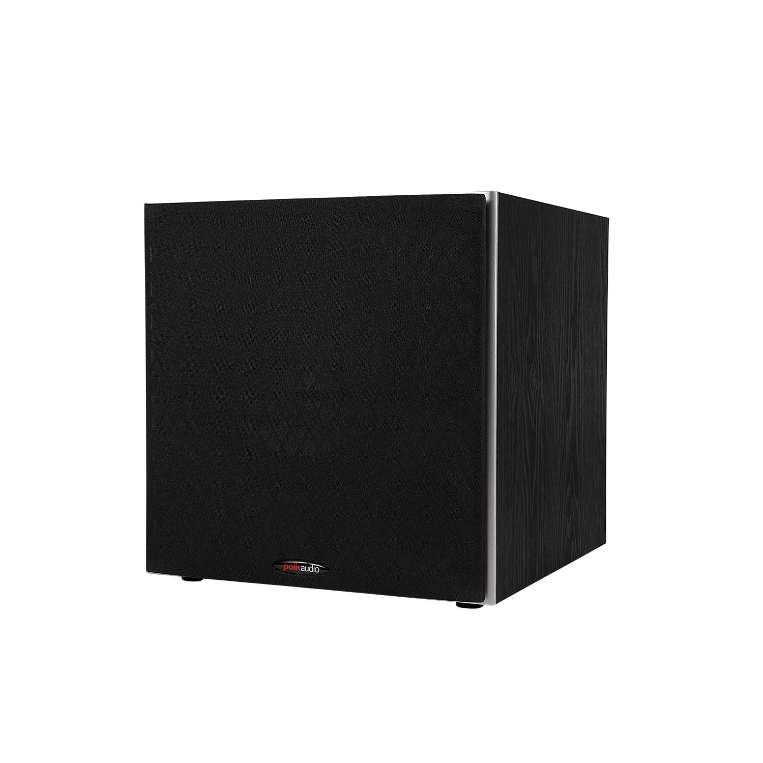 """Polk Audio PSW10 10"""" Powered Subwoofer - Power Port Technology, Up to 100 Watts, Big Bass in Compact Design, Easy Setup with Home Theater Systems Black"""
