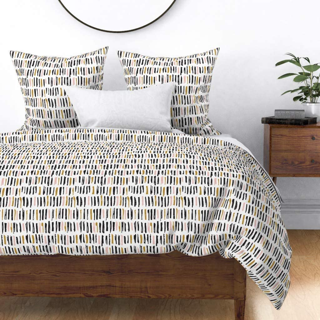 It is very popular Roostery Duvet Cover Boho Painterly Modern Abstract Boyusy Baby lowest price