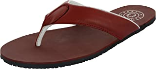 FORESTHILL Men's Leather Outdoor Slippers