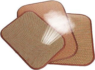 ふく福 ペットクールマット犬 猫 夏冷却涼感マット 熱中症 暑さ対策 ぐっすり眠る ソフト 中小型犬/猫用 クッション 室内用 通気性抜群-1個 (M(40*60CM))
